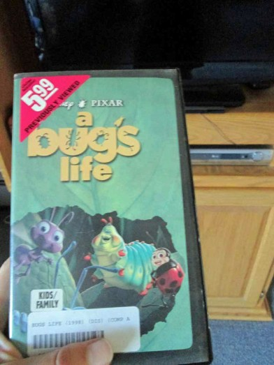 Bug's Life VHS