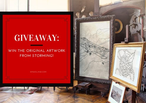Giveaway: Win the Original Artwork From Storming!