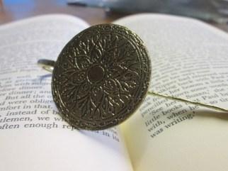 Metal Bronze Bookmark 1