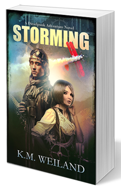 Storming: A Dieselpunk Adventure by K.M. Weiland