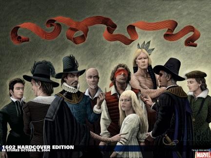 Marvel 1602 Neil Gaiman