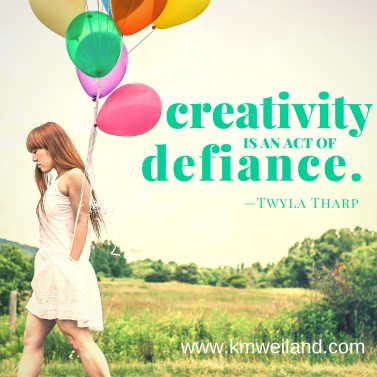 Creativity Is an Act of Defiance Twyla Tharp