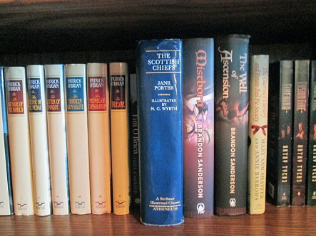 Scottish Chiefs Jane Porter Shelfie
