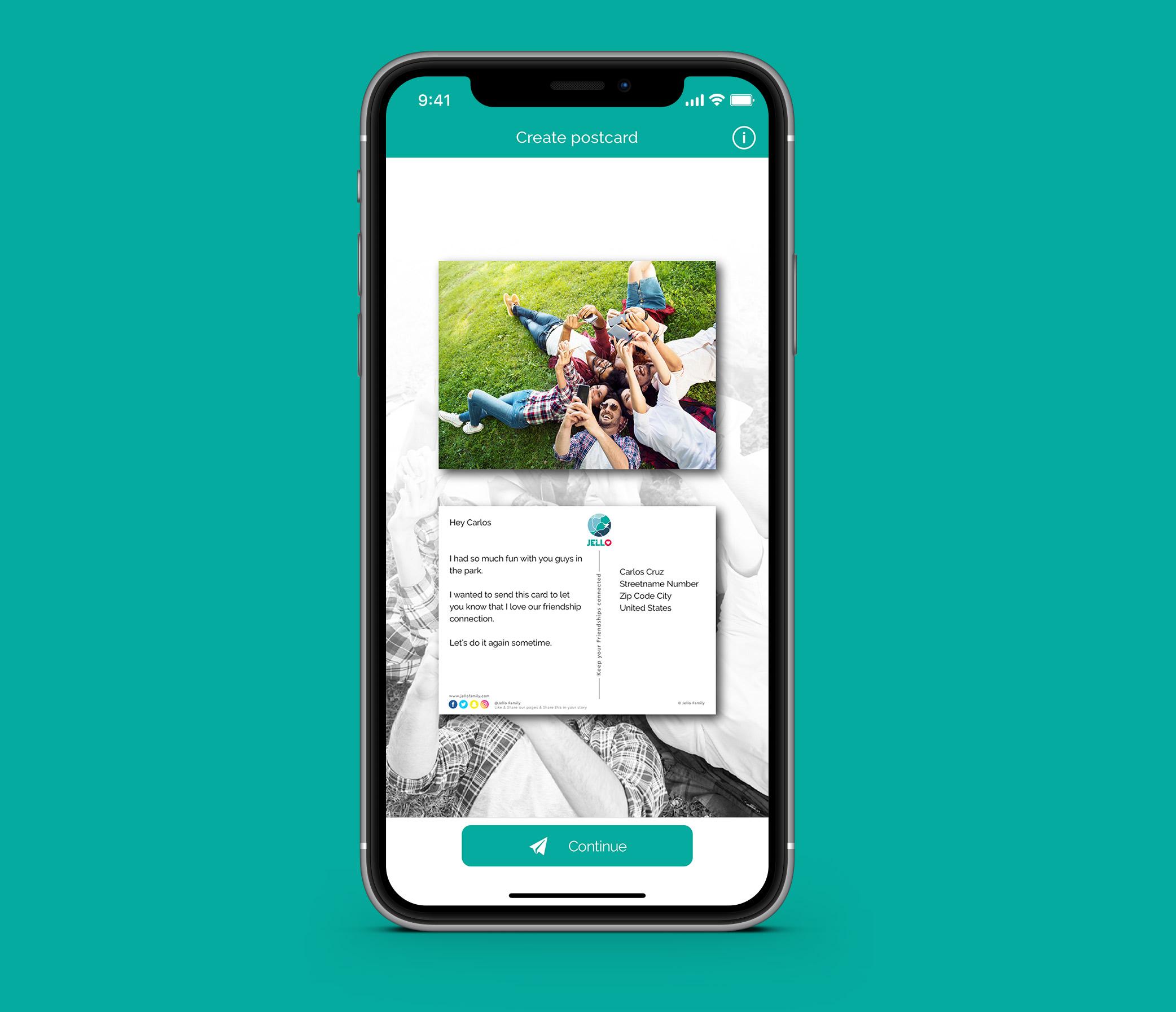 Jello Family App
