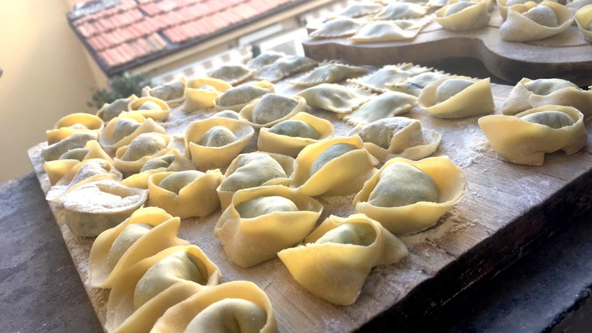 Kurz přípravy těstovin v Bologni