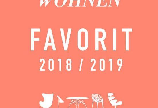 Schöner Wohnen Favorit 2018 / 2019