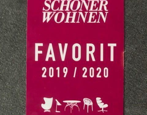 Schöner Wohnen Favorit 2019 / 2020
