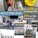 Inventurverkauf bei Knaup Wohnen
