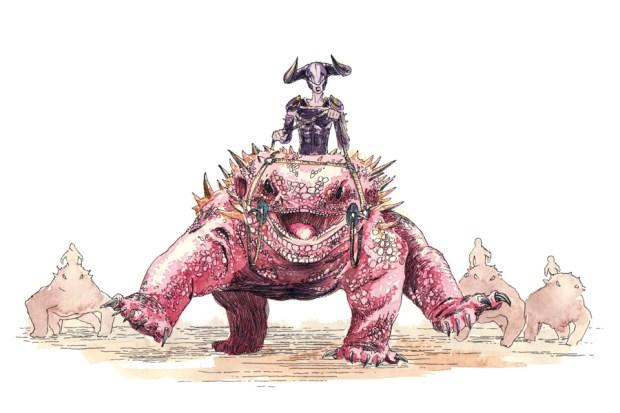 Ein Monster aus dem Kinderbuch