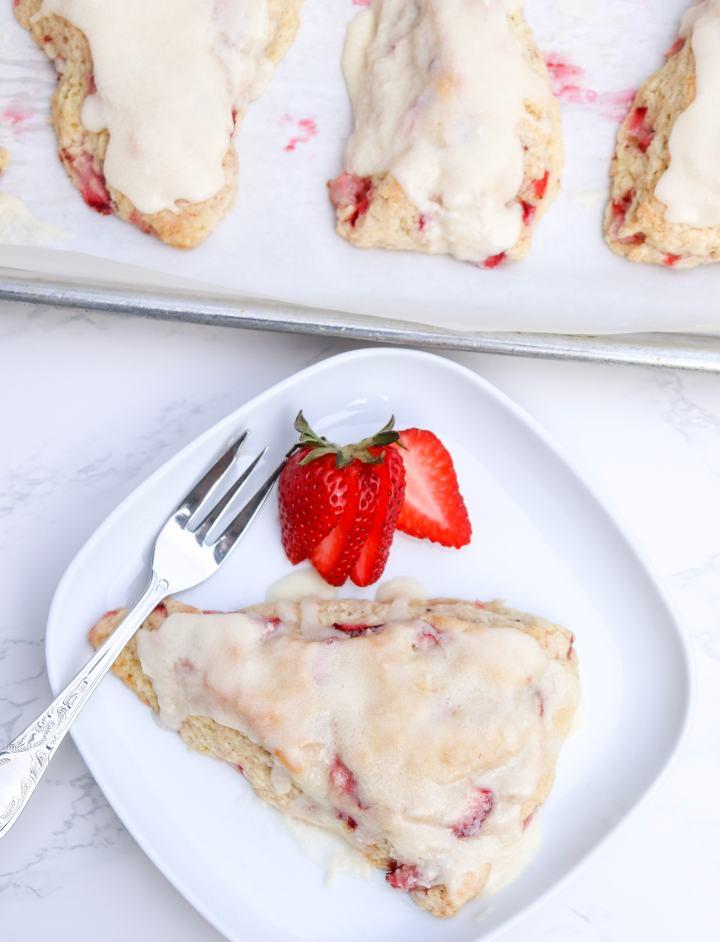 Strawberry ShortcakeScones