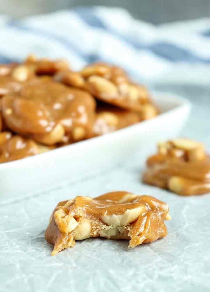 Caramel Peanut Clusters