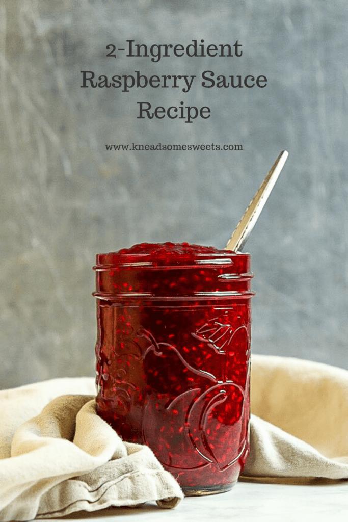 2-Ingredient Raspberry Sauce Recipe