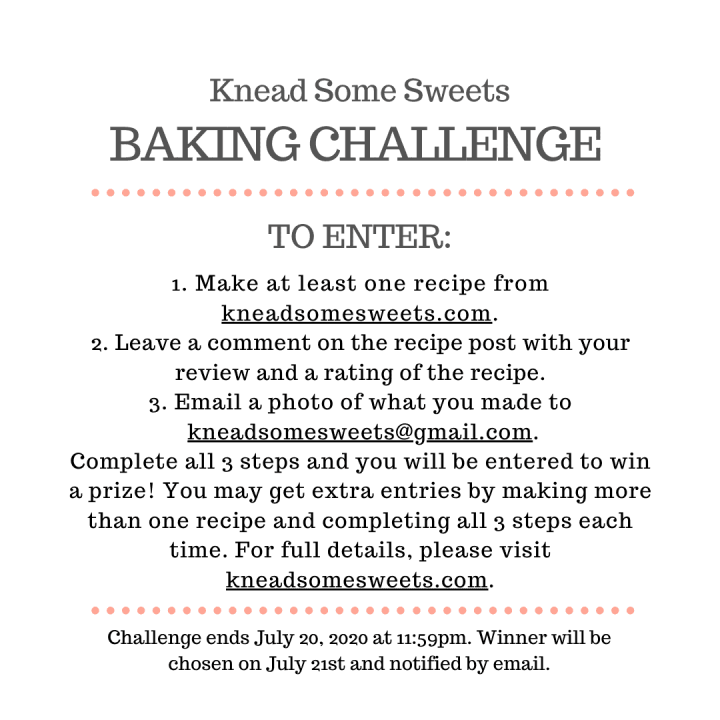 Knead Some Sweets Baking Challenge