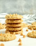 stack of Butterscotch Oatmeal Cookies