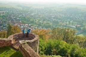 Bad Bergzabern Blick auf die Stadt