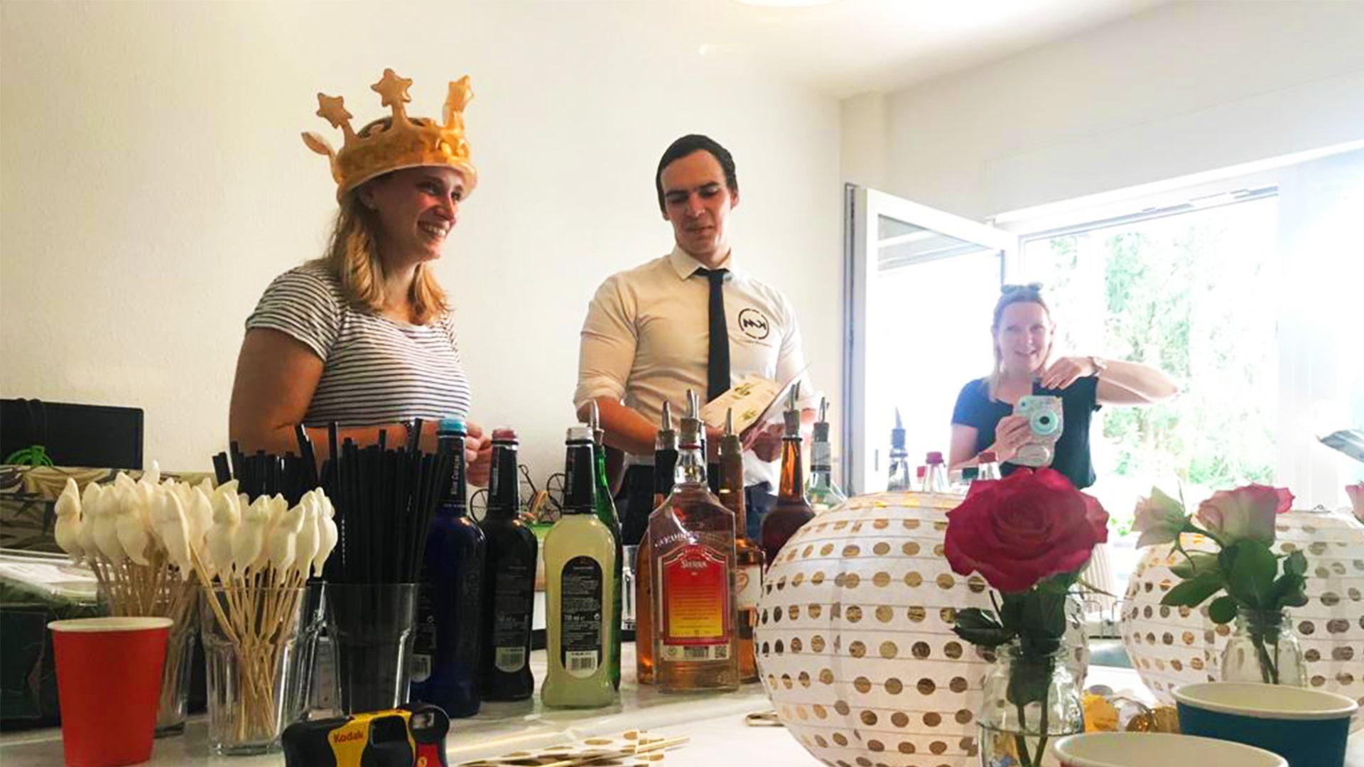 Cocktails Knepper - Cocktailkurs in NRW - Unser Cocktailkurs-dynamisch, spaßig und lecker