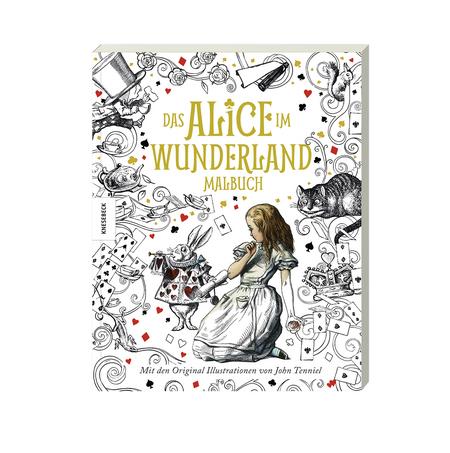 Das Alice Im Wunderland Malbuch Mit Den