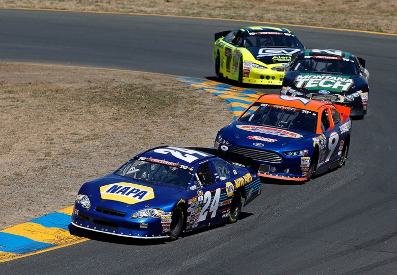 Chase Elliott Wins K&N Pro Series West Race at Sonoma Raceway in California