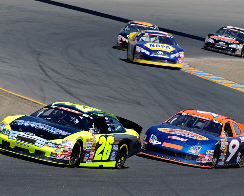 Kyle Larson Turns Right On Victory Lane In Sonoma NASCAR K&N Pro Series West Race