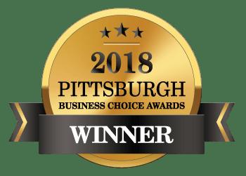 2018 Pittsburgh Business Choice Awards Winner Badge