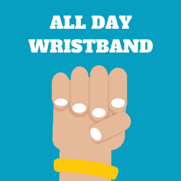 Knightly's ALL DAY WRISTBAND