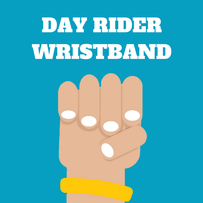 Knightly's Day Rider Wristband