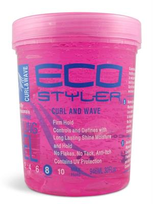 eco style styling gel 32oz curl and wave