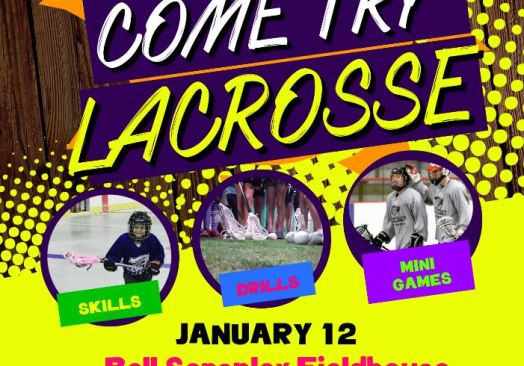 FREE! Come Try Lacrosse! GIRLS SESSION