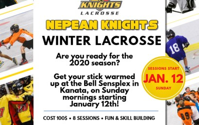 2020 Winter Lacrosse Registration is now open