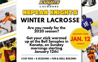 2020 Winter Lacrosse Registration is now open