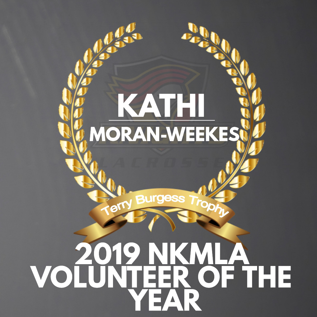Kathi Moran-Weekes named 2019 Volunteer of the Year