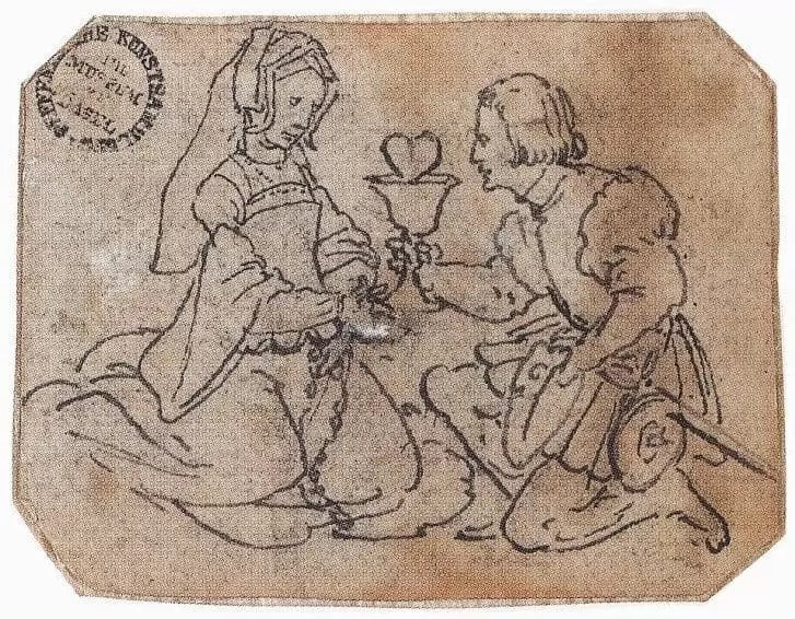 A-Courtly-Couple-by-Holbein-Younger