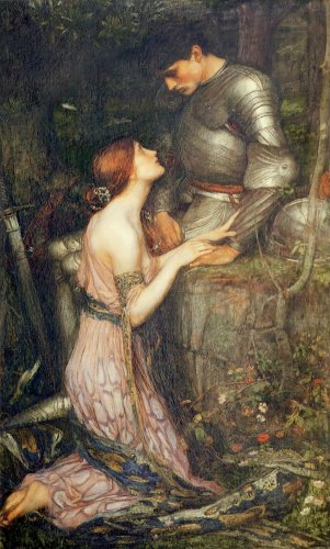 """Lamia and the Soldier"", painting by John Waterhouse (ca. 1905 AD)"