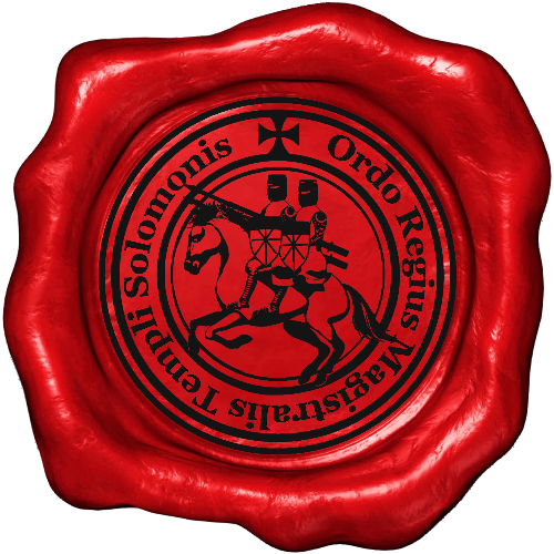 Wax Seal of the Sovereign Magistral Order of the Temple of Solomon