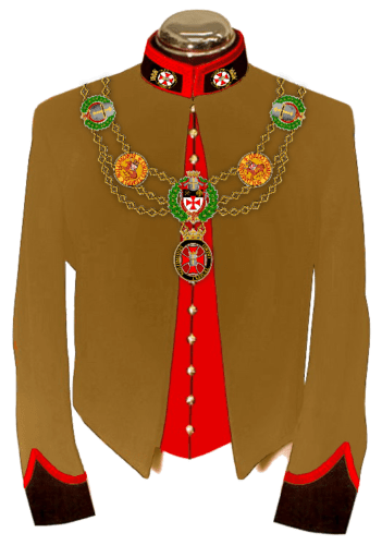 2-C Uniform Knights & Dames Collar