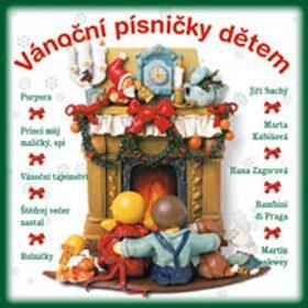 Vánoční písničky dětem - Jiří Suchý, Hana Zagorová, Petr Rezek, Marta Kubišová, Stanislav Hložek - audiokniha