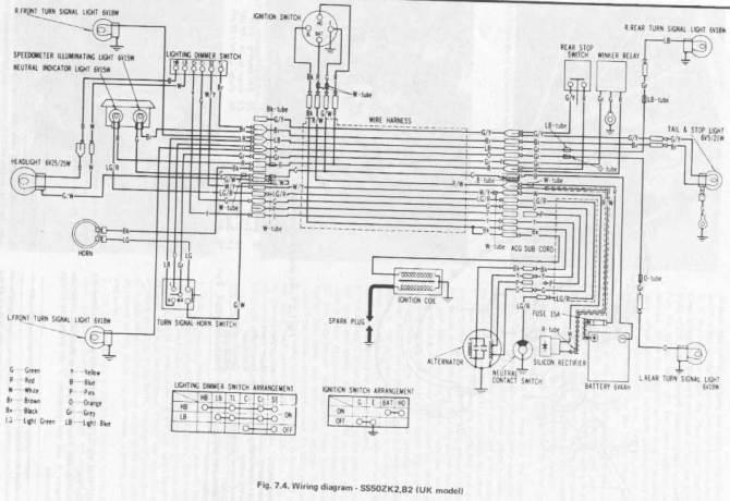honda ss50 wiring diagram wiring diagram  redmondwavetelin