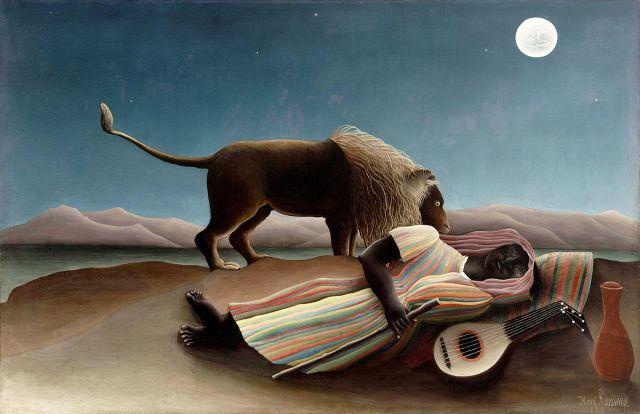 Henri Rousseau, The Sleeping Gypsy