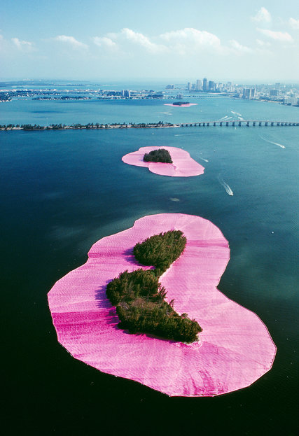 Christo and Jeanne-Claude, Surrounded Islands, Miami, Florida