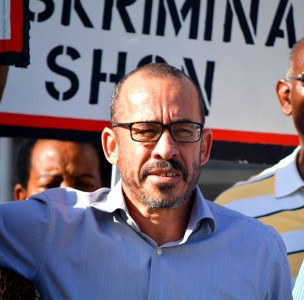 Eldon 'Peppie' Sulvaran krijgt berisping | Foto Persbureau Curacao
