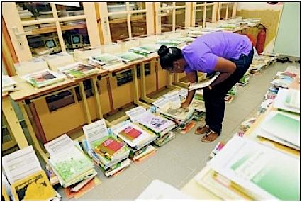 Bijna alle boeken bij scholen afgeleverd