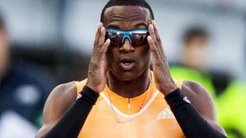 De atleet van Curaçao liep in de series