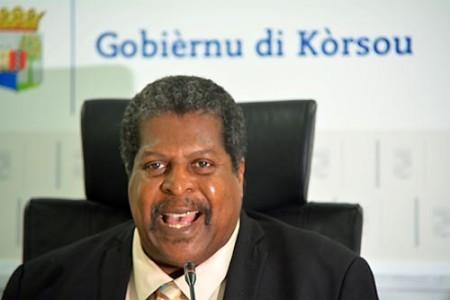 Premier Whiteman: Niet van de baan | Persbureau Curacao