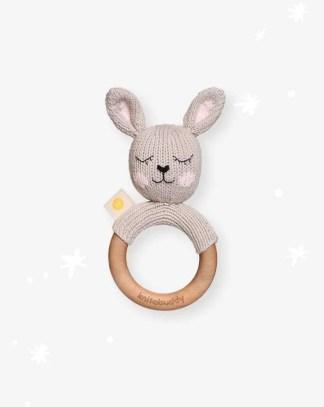 Mordedor de conejo artesanal
