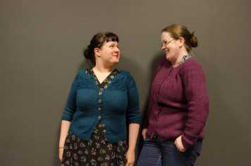 Karie and Louise in cardi swap shocker! August 2015
