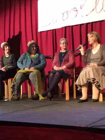 Donna, Niela Kalra, Hazel Tindall and Elizabeth Johnston hosted a q&a