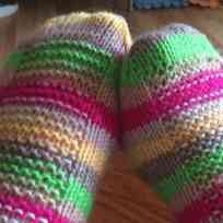 My Rye Socks in Aire Valley