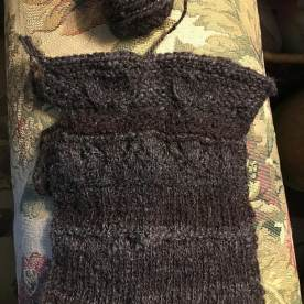 Dreynold1 just knit - balwen. Different colours are from the same fleece