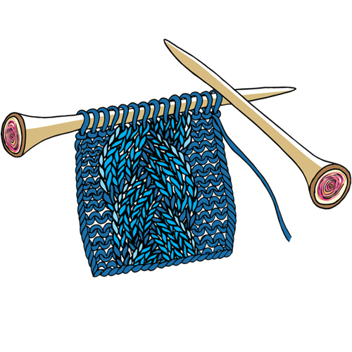 Improver's Hand Knitting Class