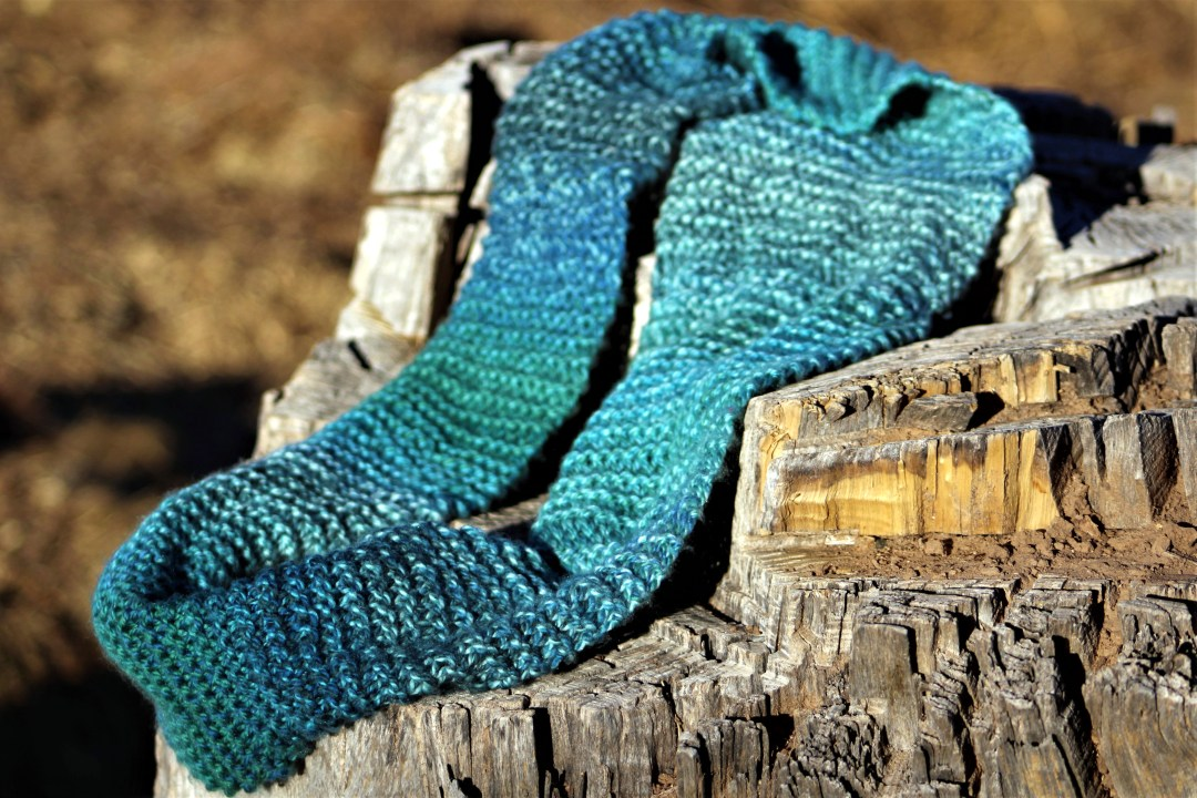 Beginner Infinity Scarf Easy Fast First Knitting Project
